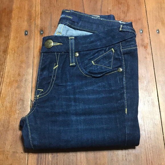 Vigoss Denim - Viggos Studio Jeans, Size 00/24, Dark Wash